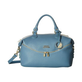 ヴェルサーチ Versace Collection レディース バッグ ハンドバッグ【Top-Handle】Denim Blue