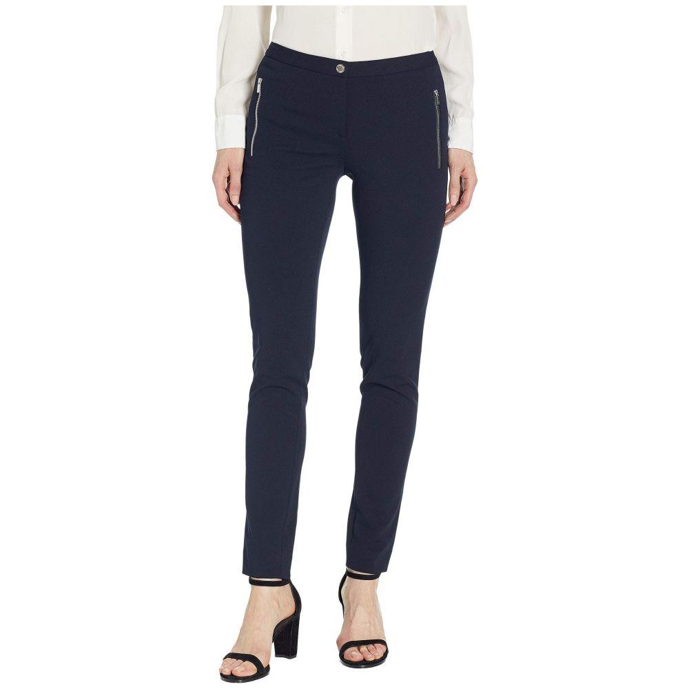 カルバンクライン Calvin Klein レディース ボトムス・パンツ【Zip Pocket Crepe Pants】Navy