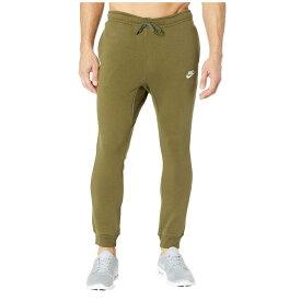ナイキ Nike メンズ ボトムス・パンツ ジョガーパンツ【Sportswear Fleece Jogger】Olive Canvas/White