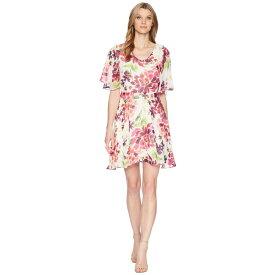 ボボウ B Collection by Bobeau レディース ワンピース・ドレス ワンピース【Monca A-Line Dress】Tropical Print