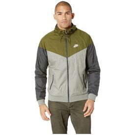 ナイキ Nike メンズ アウター ジャケット【Sportwear Windrunner Jacket】Olive Canvas/Dark Stucco/White