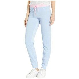 ジューシークチュール Juicy Couture レディース ボトムス・パンツ【Color Block Group Microterry Zuma Pants】Icy Blue
