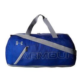 アンダーアーマー Under Armour レディース バッグ ボストンバッグ・ダッフルバッグ【UA Packable Duffel Bag】Royal/Steel/Silver