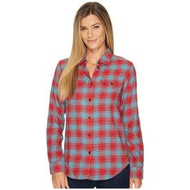フィルソン Filson レディース トップス ブラウス・シャツ【Scout Shirt】Red/Turquoise Plaid