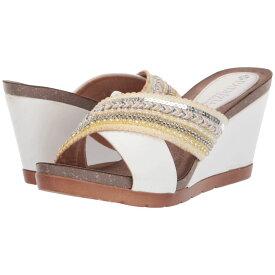 パトリツィア PATRIZIA レディース シューズ・靴 サンダル・ミュール【Bisera】White