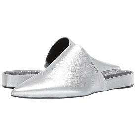 カルバンクライン Calvin Klein レディース シューズ・靴 ローファー・オックスフォード【Chantalia】Silver Metallic Nappa Shine