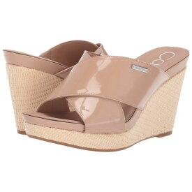 カルバンクライン Calvin Klein レディース シューズ・靴 サンダル・ミュール【Jacolyn】Desert Sand Patent