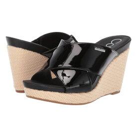 カルバンクライン Calvin Klein レディース シューズ・靴 サンダル・ミュール【Jacolyn】Black Patent