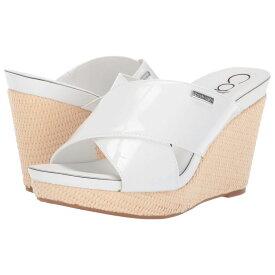 カルバンクライン Calvin Klein レディース シューズ・靴 サンダル・ミュール【Jacolyn】White Patent