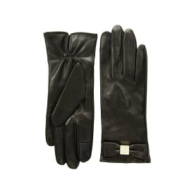 ケイト スペード Kate Spade New York レディース 手袋・グローブ【Hardware Bow Tech Gloves】Black