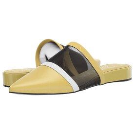 カルバンクライン Calvin Klein レディース シューズ・靴 ローファー・オックスフォード【Cardy】Lime/Black/White Mesh/Nappa Smooth