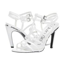 カルバンクライン Calvin Klein レディース シューズ・靴 サンダル・ミュール【Gili】White Box