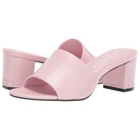 カルバンクライン Calvin Klein レディース シューズ・靴 サンダル・ミュール【Noelly】Pastel Pink Nappa