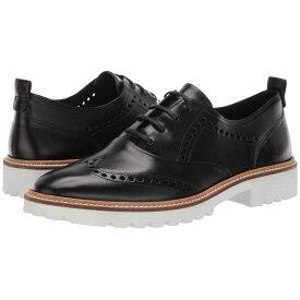 エコー ECCO レディース シューズ・靴 ローファー・オックスフォード【Incise Tailored Wing Tip】Black Calf Leather
