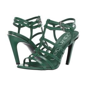 カルバンクライン Calvin Klein レディース シューズ・靴 サンダル・ミュール【Gili】Emerald Green Box