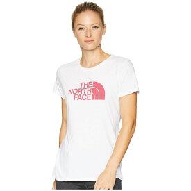 ザ ノースフェイス The North Face レディース トップス Tシャツ【1/2 Dome Tri-Blend Crew Tee】TNF White Heather/Cerise Pink