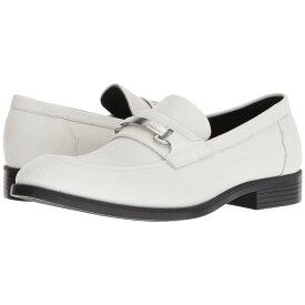 カルバンクライン Calvin Klein メンズ シューズ・靴 ローファー【Craig】Off-White Scotch Grain Leather