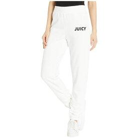 ジューシークチュール Juicy Couture レディース ボトムス・パンツ【Fleece Ruched Pants】Bleached Bone