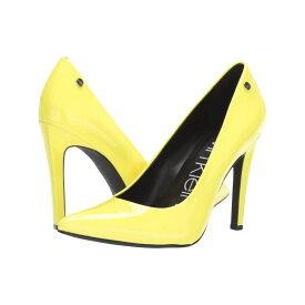 カルバンクライン Calvin Klein レディース シューズ・靴 パンプス【Brady】Yellow Flourescent