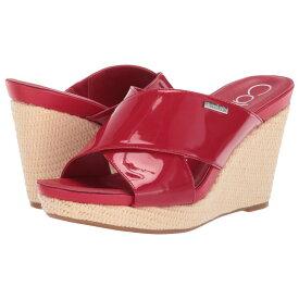 カルバンクライン Calvin Klein レディース シューズ・靴 サンダル・ミュール【Jacolyn】Scarlet Patent