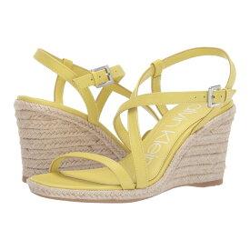 カルバンクライン Calvin Klein レディース シューズ・靴 サンダル・ミュール【Bellemine】Lime Soft Nappa Shine