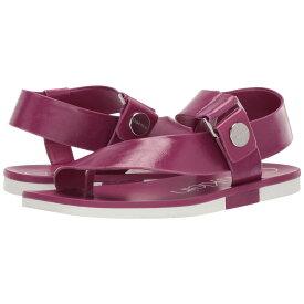 カルバンクライン Calvin Klein レディース シューズ・靴 サンダル・ミュール【Rikki】Magenta Varnished Crackle