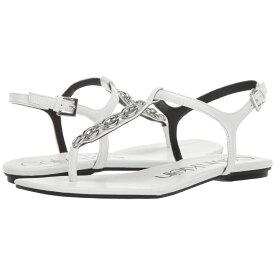 カルバンクライン Calvin Klein レディース シューズ・靴 サンダル・ミュール【Silva】White Paper Patent