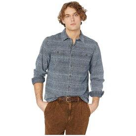 ヴィスラ VISSLA メンズ トップス シャツ【Lacerations Flannel Shirt】Dark Naval