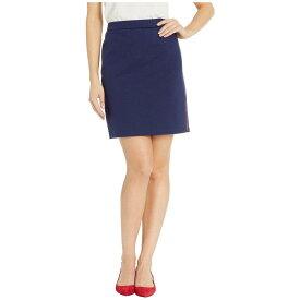 マイケル コース MICHAEL Michael Kors レディース スカート【Side Logo Tape Skirt】True Navy/Scarlet