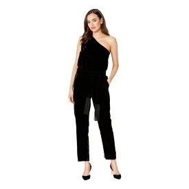 ラルフ ローレン LAUREN Ralph Lauren レディース ワンピース・ドレス オールインワン【Velvet One-Shoulder Jumpsuit】Polo Black