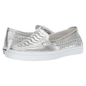 コールハーン Cole Haan レディース シューズ・靴 ローファー・オックスフォード【Pinch Weekender Luxe Huarache】Ch Argento Metallic Leather/Optic White