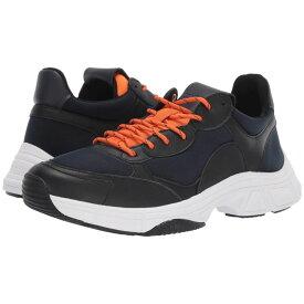 カルバンクライン Calvin Klein メンズ シューズ・靴 スニーカー【Daxtonn】Navy/Black/Orange Peel Nappa Smooth Calf/Neoprene