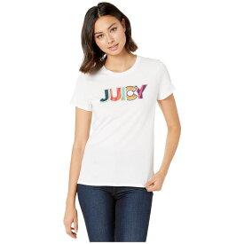 ジューシークチュール Juicy Couture レディース トップス Tシャツ【Summer Juicy Graphic Classic Short Sleeve Tee】White