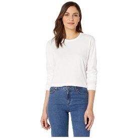 ハーレー Hurley レディース トップス 長袖Tシャツ【Solid Perfect Long Sleeve】White