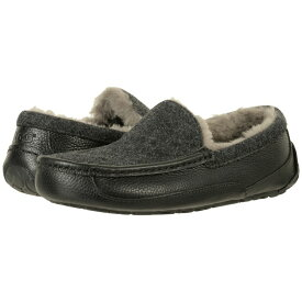 アグ UGG メンズ シューズ・靴 スリッパ【Ascot Novelty】Black