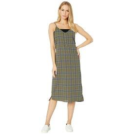ハーレー Hurley レディース ワンピース・ドレス ワンピース【Tank Plaid Maxi Dress】Medium Olive