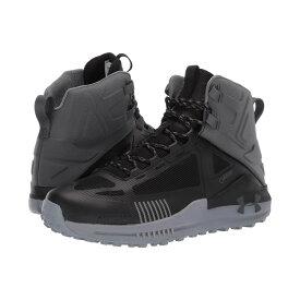 アンダーアーマー Under Armour メンズ ハイキング・登山 シューズ・靴【UA Verge 2.0 Mid GTX】Black/Pitch Gray/Khaki Base