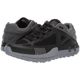 アンダーアーマー Under Armour メンズ ハイキング・登山 シューズ・靴【UA Verge 2.0 Low GTX】Black/Pitch Gray/Pitch Gray