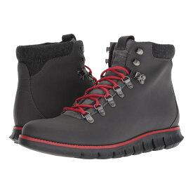 コールハーン Cole Haan メンズ ハイキング・登山 シューズ・靴【Zerogrand Hiker】Magnet Leather/Barbados Cherry/Black