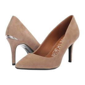 カルバンクライン Calvin Klein レディース シューズ・靴 パンプス【Gayle Pump】Tobacco Suede Leather
