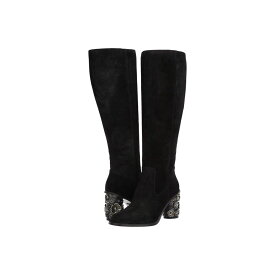 コーチ COACH レディース シューズ・靴 ブーツ【Tea Rose Heel Boot - Suede】Black
