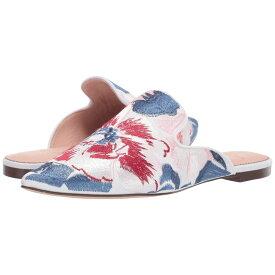 ジェイクルー J.Crew レディース シューズ・靴 サンダル・ミュール【Marina Slide in Brocade】Ingalls Floral Cobalt Pink