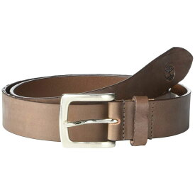 ティンバーランド Timberland メンズ ベルト【'Made in the USA' 35 mm Two-Tone Khaki Leather Belt】Brown
