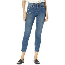 ジューシークチュール Juicy Couture レディース ボトムス・パンツ ジーンズ・デニム【Embellished Charms Skinny Jeans】Luxe Blue Wash