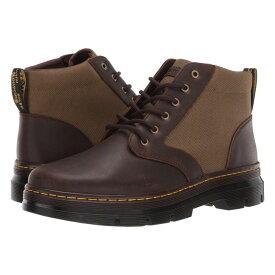 ドクターマーチン Dr. Martens メンズ シューズ・靴 ブーツ【Bonny II Tract】Dark Brown/DMS Olive