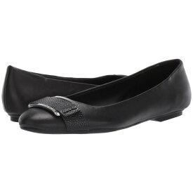 カルバンクライン Calvin Klein レディース シューズ・靴 スリッポン・フラット【Oneta】Black Nappa/Pebble Grain