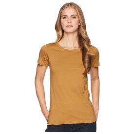 フィルソン Filson レディース Tシャツ トップス【Whidbey Scoop Neck T-Shirt】Caramel