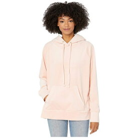 ジューシークチュール Juicy Couture レディース パーカー トップス【Track Luxe Velour Hooded Pullover】Pink Shadow