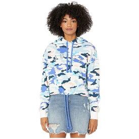 ジューシークチュール Juicy Couture レディース パーカー トップス【Drawcord Cropped Fleece Hooded Pullover】Pastel Camo