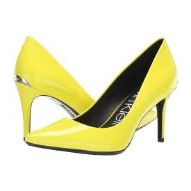 カルバンクライン Calvin Klein レディース パンプス シューズ・靴【Gayle Pump】Yellow Fluorescent Patent